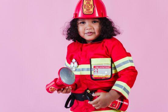 Droombaan brandweervrouw